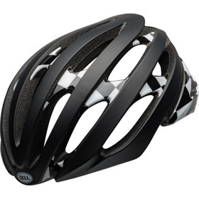 Bell Stratus MIPS Casque, checked matt/gloss black/white